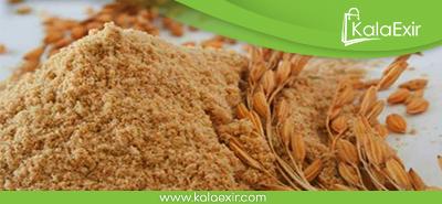 پوستی جوان و زیبا با سبوس برنج