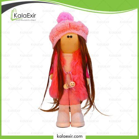 عروسک روسی لباس صورتی