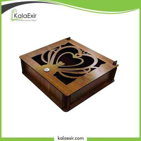 خرید جعبه کادویی چوبی